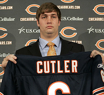 Jay Cutler introduced in Chicago