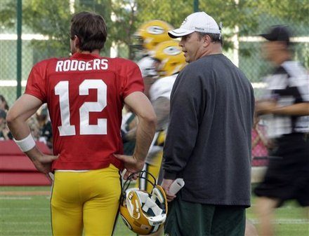 Mike McCarthy , Aaron Rodgers