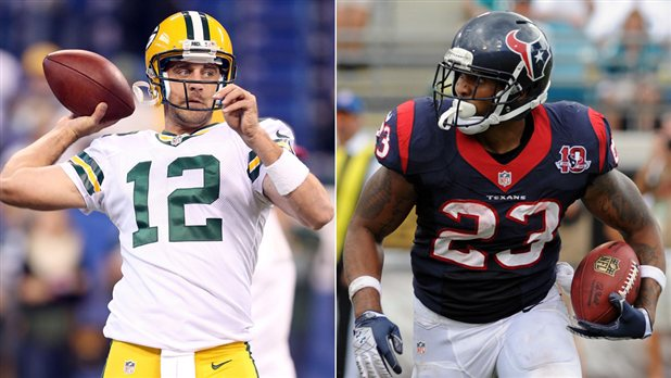2012 NFL Week Six Preivew — Green Bay vs Houston