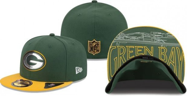 Check Out What The Packers 2015 Draft Hats Look Like - Packers Gab 00a11adb581